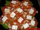 Salata cu rosii si tofu