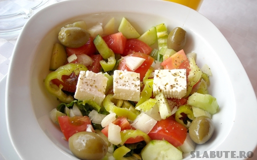 salata greceasca Salata greceasca