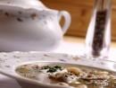 Supa crema de ciuperci, reteta de post