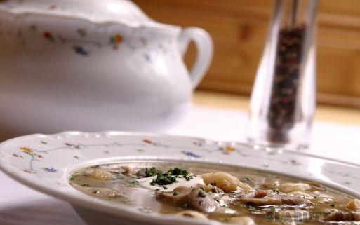 supa ciuperci Supa crema de ciuperci, reteta de post