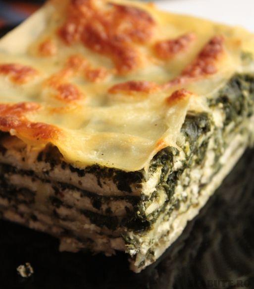 lasagna spanac1 Lasagna cu spanac