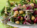 Salata de fasole, de post