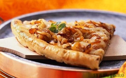 pizza ciuperci fenicul Pizza cu ciuperci si fenicul