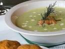 Supa crema de mazare verde boabe