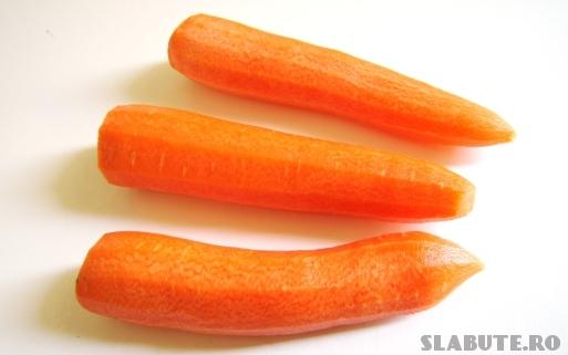 morcovi Incarcatura glicemica