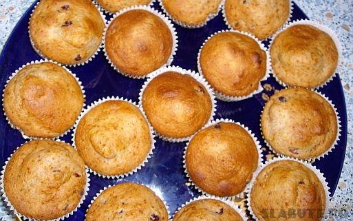 briose dietetice merisoare Briose dietetice cu merisoare