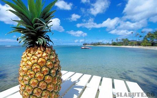 ananas ten acneic Masca pentru ten acneic cu ceai de musetel si ananas