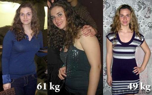 livia89 inainte dupa Livia89   Slabuta 2010