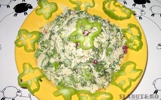 salata craciun pui Salata de Craciun cu pui