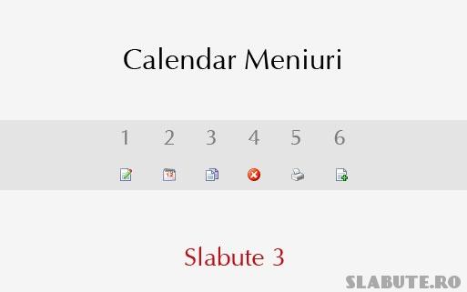 calendar meniuri slabute 3 Calendar Meniuri Slabute 3   mai aproape de nevoile tale