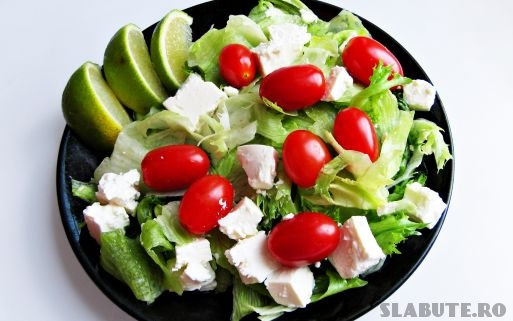pranz sanatos salata Ce mananc la pranz?