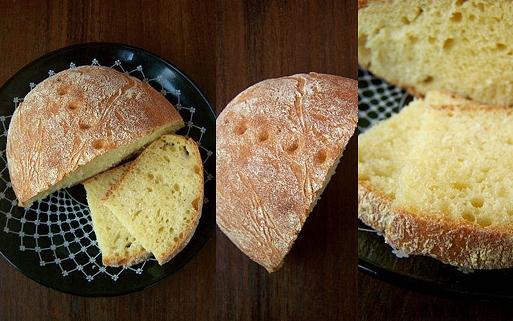 paine faina porumb faina grau Paine din faina de porumb si faina integrala de grau