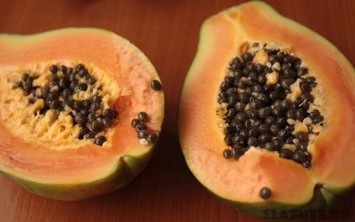 papaya alimentatie relaxanta Alimente relaxante