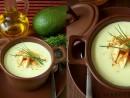 Supa crema de avocado