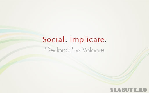 splash social Declaratii vs Valoare