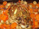Pulpa de curcan cu legume, la cuptor
