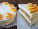 Tort de morcovi-portocala
