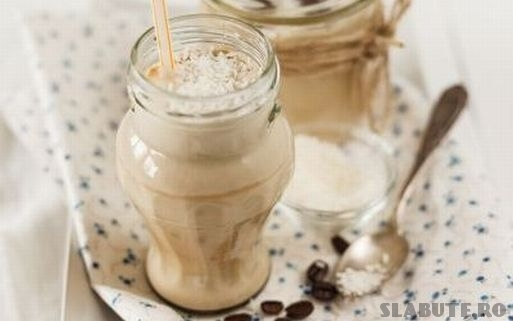 milkshake cocos cafea Milkshake de cafea si cocos