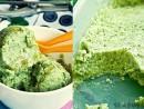Inghetata verde racoritoare de avocado si ruccola