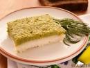 Peste cu piure de broccoli